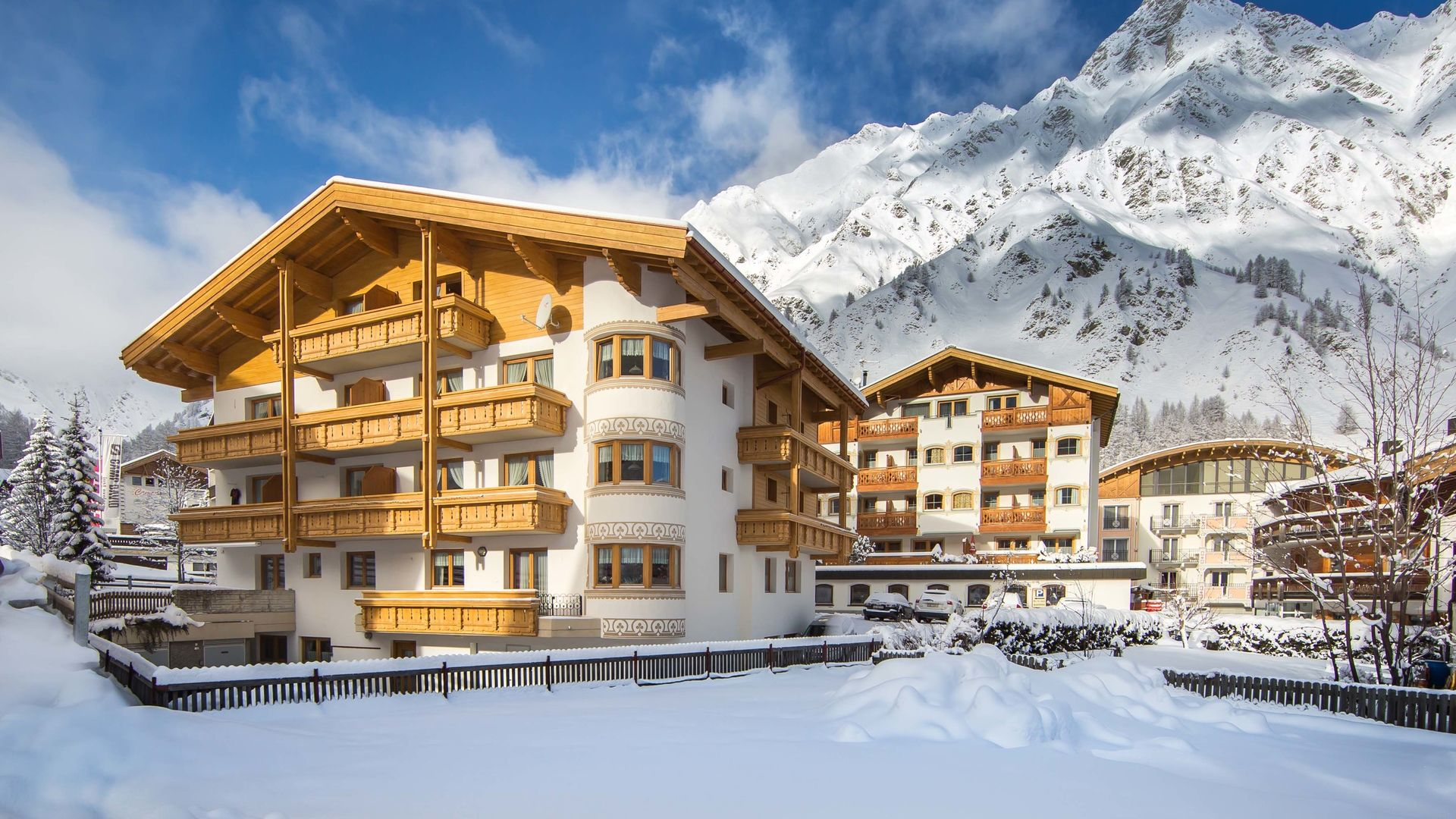 Skiurlaub Samnaun Appartement Panorama