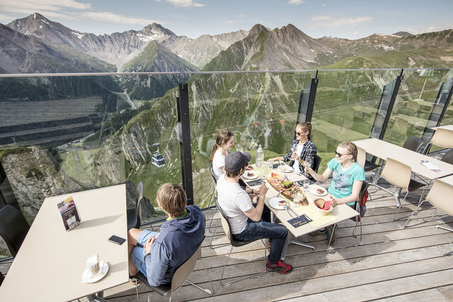 Samnaun Sommerurlaub Appartement Panorama Wandergebiet Samnaun