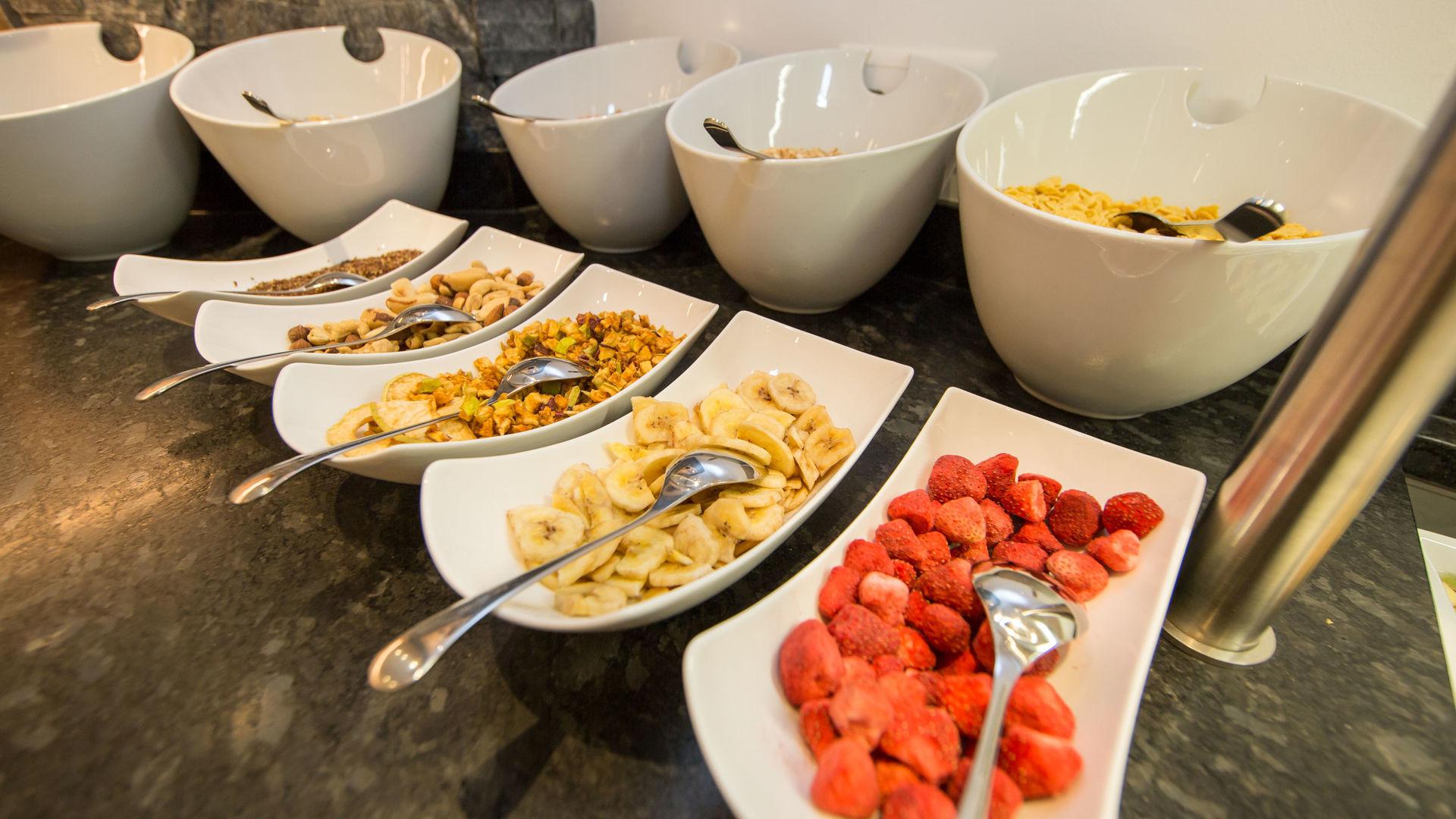 Frühstücksbuttet Appartement Panorama Samnaun