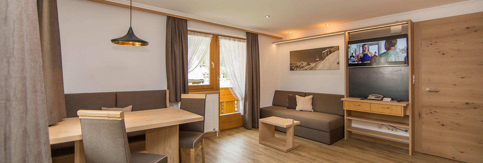 Online buchen Appartement Panorama Samnaun