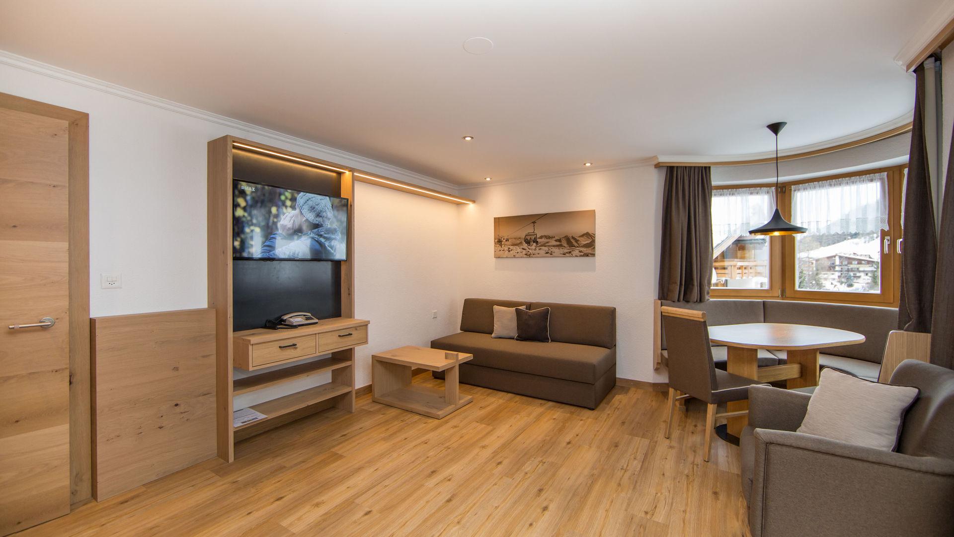 Appartement und Zimmer