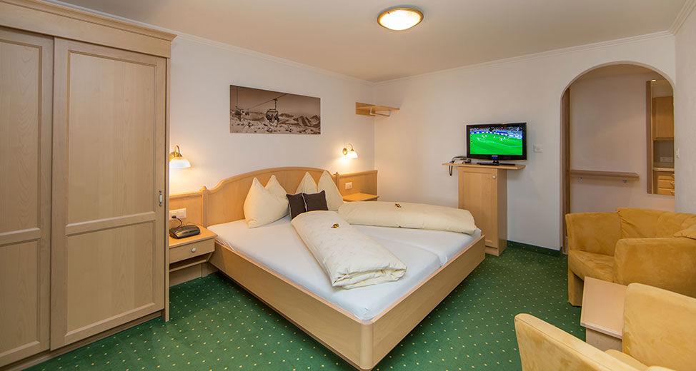 Appartement (Südseite) - Einzimmerwohnung für 2 Personen ca. 32 m²