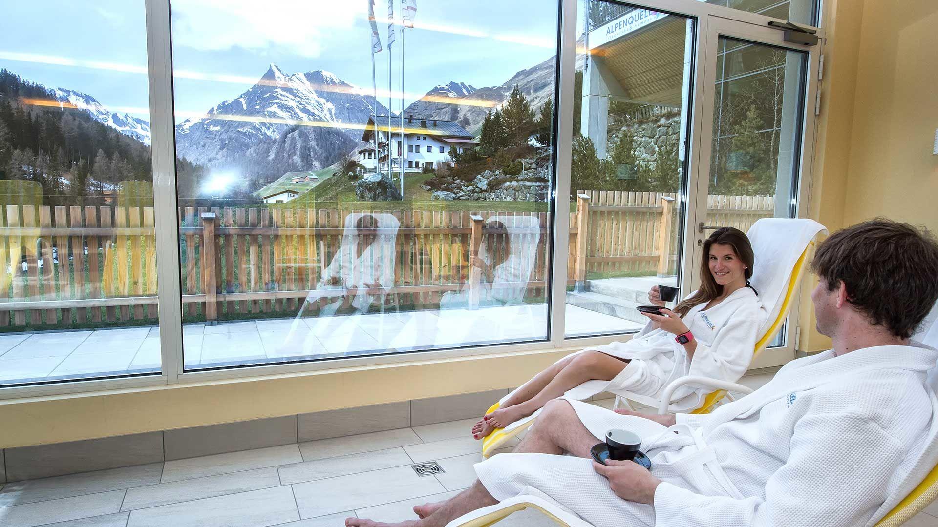 Alpenquell Erlebnisbad in Samnaun-Compatsch