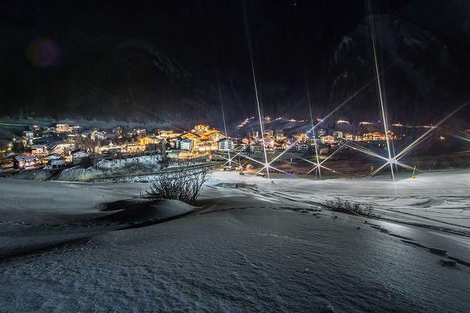 Samnaun Winterurlaub Appartement Panorama
